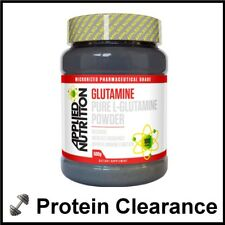 Applied L-Glutamine 500g Pure Powder Recovery Nutrition 100 Servings BBE 05/2018