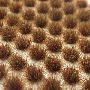 Swamp Brown Static Grass Tufts (2mm, 4mm, 6mm)