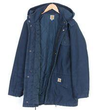 CARHARTT HICKMAN COAT Hooded Padded Jacket Men Size XL MJ2009