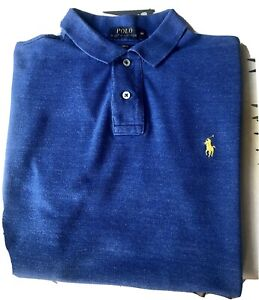 RALPH LAUREN POLO SHIRT, MEDIUM, SLIM FIT