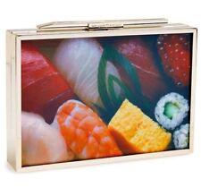 NWT Kate Spade NY Hello Tokyo Bento Box Sushi Book Clutch Japanese Geisha Bag