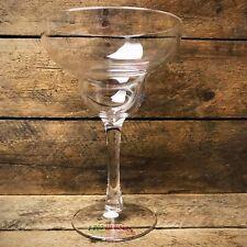 """Clear Margarita Plastic Container / Floral Vase 6.75"""" H"""