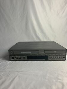 JVC SR-MV45U Combo S-VHS/DVD Recorder Player Tested And Working