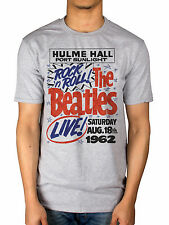 Official The Beatles 1962 Rock N Roll T-Shirt Lonely Hearts White Album Abbey Ro