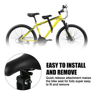 Child Front-Mounted Bicycle Seat Adjustable Detachable Mountain Bike Kids Seat