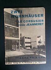 2 Houses by LE CORBUSIER & Pierre JEANNERET Modernist Architecture Bauhaus 1928