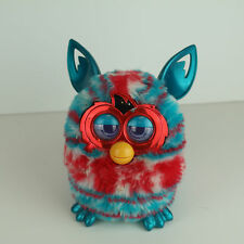 Furby Striped Multicolor Bright Hasbro 2012 Blue Red White