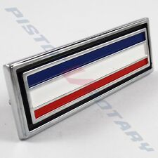 STRIPED Console Badge ,Chrome NEW for FORD FALCON XY XW Dash Stripes GS GT 351