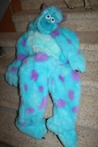 Plush Deluxe Costume Sully Sulley Disney Store Monsters Inc Halloween S Youth