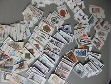 More details for job lot approx. 350 cigarette cards. part sets. poultry, g.& s. ships & badges.
