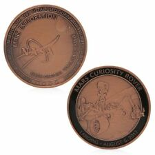 Nasa Exploration Commemorative Challenge Coin Collection Red Bronze Plated Gift