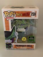 DAMEON CLARKE SIGNED PERFECT CELL 759 ECCC GITD 2020 FUNKO POP A BECKETT COA D1
