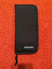 CASE LOGIC Computer Camera Accessory CarryCase Batteries Hard Disks Mesh Pckets