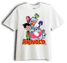 Teen Titans Go - Robin - Personalized - Birthday T-Shirt Party Favor