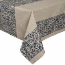 "Ed Ellen Degeneres Textured Geometric Design Tablecloth 60"" x 120"" Oblong 10-12"