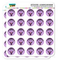 Sesame Street Count Face Planner Calendar Scrapbooking Crafting Stickers