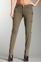 BLANKNYC Denim Cargo Pants Olive Green Skinny Jeans $78 RM Blank NYC