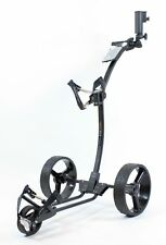 Golftrolley Yorrx® Pro 5 TOPSET, Tasche, Tees, Regenschirmhalter.... *schwarz*