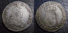 1/3 D'ECU DE FRANCE 1721 W (LILLE) - LOUIS XV