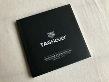 TAG Heuer Anleitung Calibre 3 , 4 , 5 & 7  GMT AUTOMATIC instructions booklet