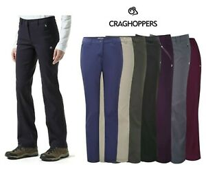 Craghoppers Womens Casual Walking Pro Stretch Trousers Ladies Kiwi CWJ1072 8-20