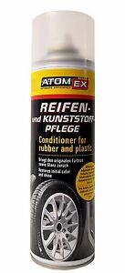XADO Atomex Reifenpflege Glanz Kunststoffpflege Politur Gummi Schutz Reiniger