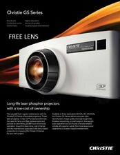 Christie DHD555-GS Laser DLP Projector LaserLife20khrsFullHD 5000Lum.FreeAccesor
