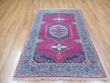 Super Veg Dye Viss Kazak Bakhshayesh Heriz Serapi Heriz 4x6 Caucasian Rug
