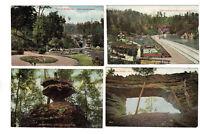 4 Antque Postcard Lot~c.1910~Mcadams & Morford Lexington KY~Natural Bridge Scene