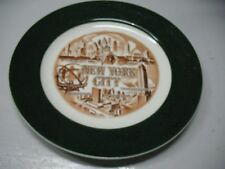 NEW  YORK  CITY  SOUVENIR  PLATE  10 ''  PRE  TWIN  TOWERS   NM CONDITION