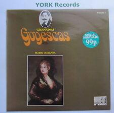 SAGA 5343 - GRANADOS - Goyescas Book 1 MARIO MIRANDA - Excellent Con LP Record