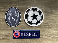 FC Bayern München Champions League Patch matchworn FC Barcelona Patch divista.
