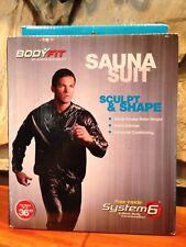 "New Bodyfit sauna suit system 6 Fits Waist up to 36"""
