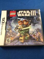 Nintendo Ds Lego Star Wars III The Clone Wars