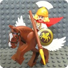 C145 Lego Battle Goddess Athena She Ra & Swift Wind Pegasus God Wings Horse NEW