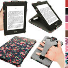 Floral Butterfly Design PU Leather Case for Amazon Kindle Paperwhite Stand Cover