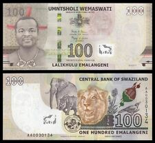 Suazilandia - Swaziland  100 Emalangeni 6-9-2017  Pick New  SC = UNC