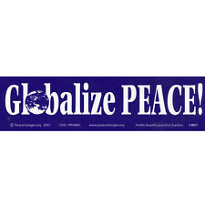 MS011 - Globalize Peace Mini Magnet