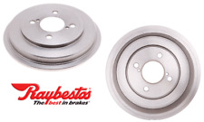 2 Brake Drums RAYBESTOS  4-Lug Rear Left & Right For Honda FIT 2012-18