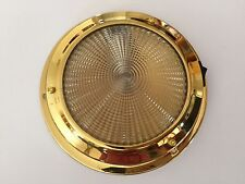 Boat Cabin light 12V Interior Brass 140MM Base /Boat / Yacht/Sailing Boat