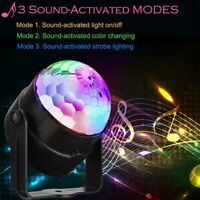 LED Galaxy Starry Night Light Projector Star Sky Xmas Birthday Party Lamp Gift