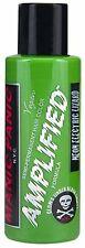 Electric Lizard Green Amplified Manic Panic Vegan 4 Oz Hair Dye Color Squeeze