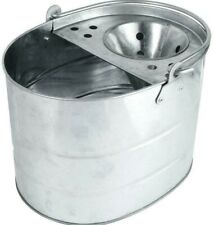 High Quality Durable Stainless Steel  Metal Mop Bucket Kitchen Bathroom Use