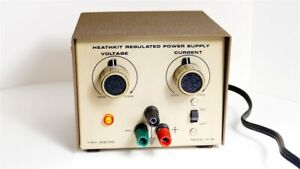 Heathkit Regulated Power Supply  Model IP-18  Works Perfectly  TESTED EXCELLENT