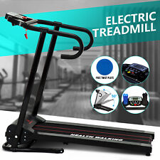Electric Motorized Treadmill Heavy Duty Running Folding Fitness Cardio Equipment