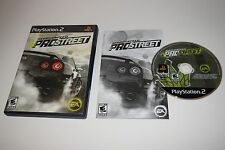 Need for Speed ProStreet Sony Playstation 2 PS2 Video Game Complete