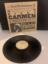 GREAT PERFORMANCES 37260 BIZET CARMEN STOKOWSKI NATIONAL ORCHESTRA LP