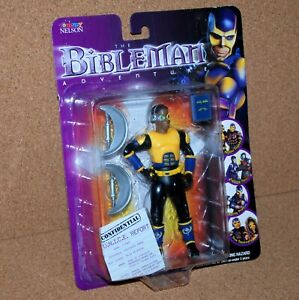 2001 BIBLEMAN CYPHER Action Figure Tommy Nelson The Adventure Christian Religion