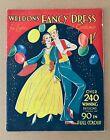 Vintage Catalog 1930 Weldon's Fancy Dress For Ladies And Gentlemen KKK RARE!
