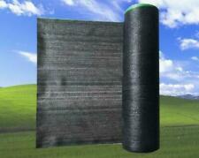 60% UV Black Shade Cloth Sunshade Fabric Greenhouse Shadecloth For Width 10Ft